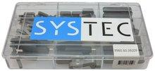 inlegspie din 6885 Systec assortiment doos 9-vaks