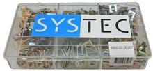 speednut geelverzinkt Systec assortiment doos 9-vaks
