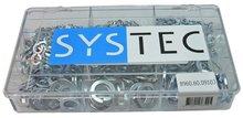 veerring din 127b verzinkt Systec assortiment doos 9-vaks