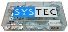 carrosseriering verzinkt Systec assortiment doos 9-vaks